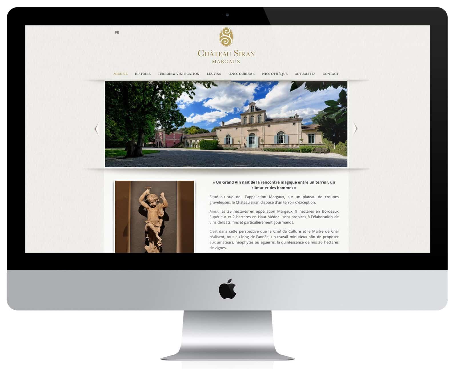 Château Siran un grand vin de Margaux