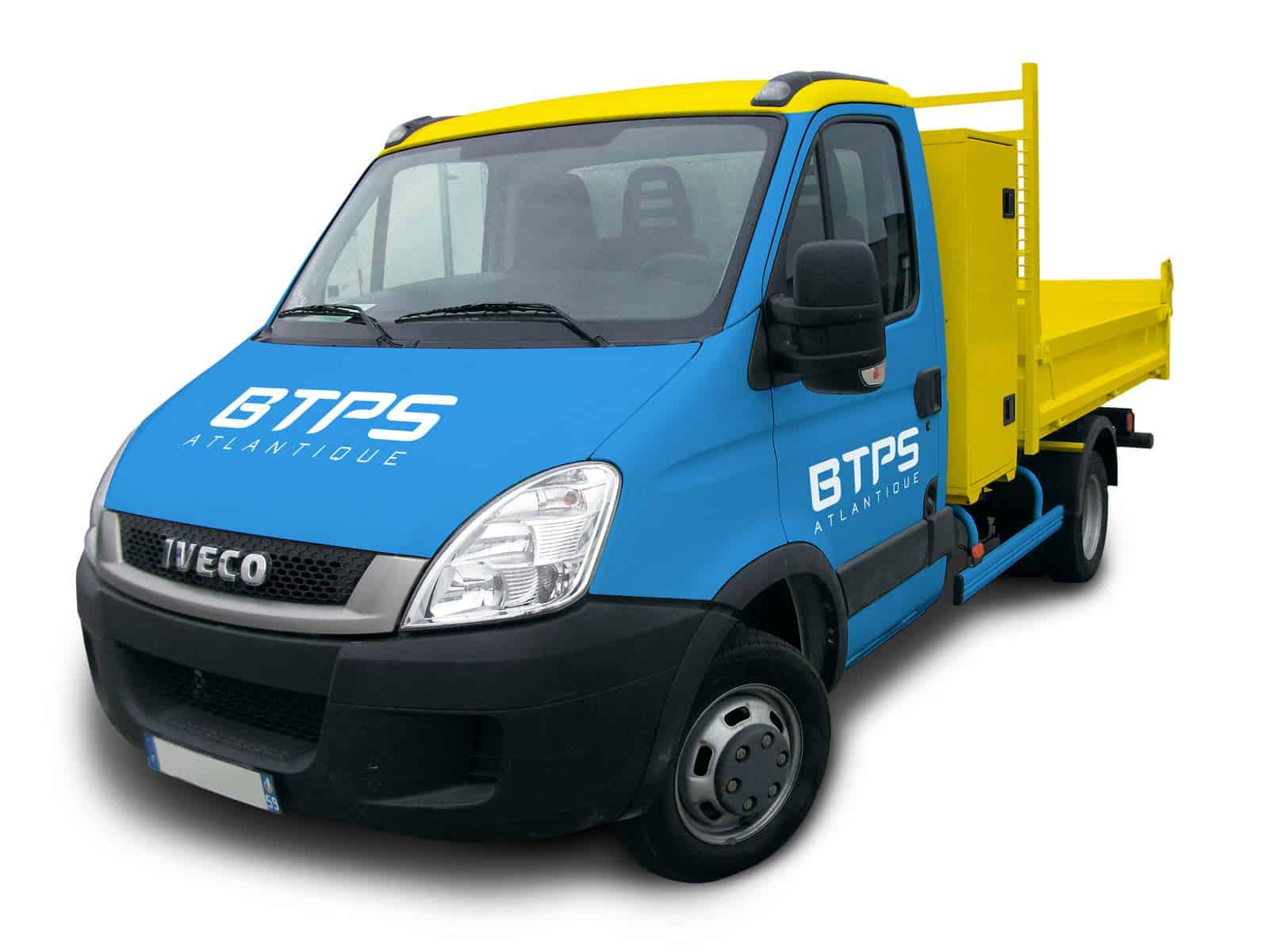BTPS covering des véhicules