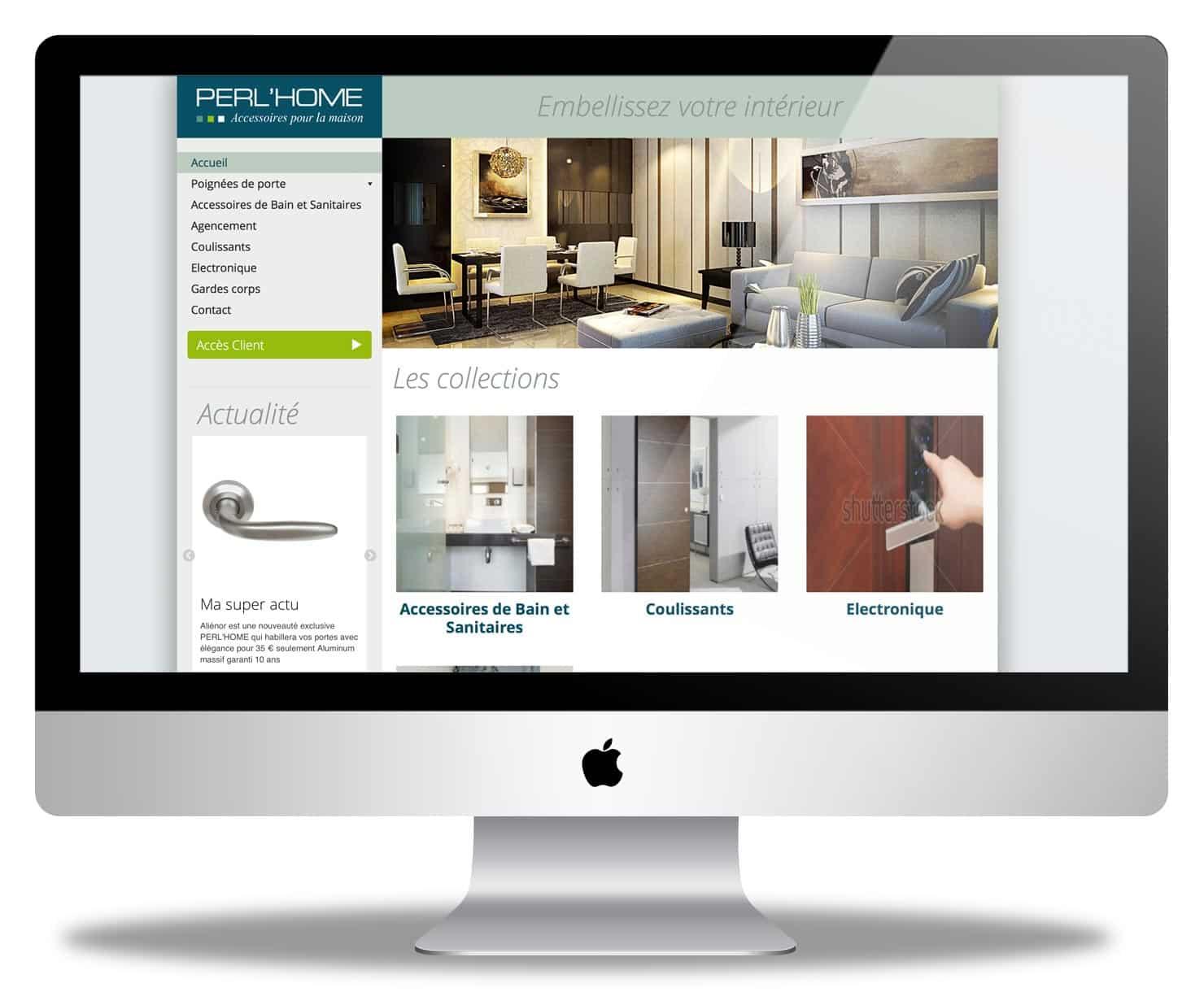PERL'HOME des poignées design pour votre maison
